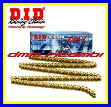 Catena MOTO Racing DID GP 525 ZVMX X2-Ring 120mg. ORO colorata XRING SBK ZVM-X