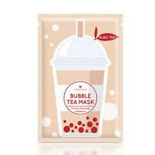 [ANNIE'S WAY] Black Tea Firming Nourishing Bubble Tea Facial Mask 5pcs NEW