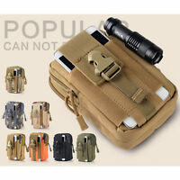 Tactical Waist Pack Belt Bag Camping Hiking Outdoor Military Molle Pouch 1908