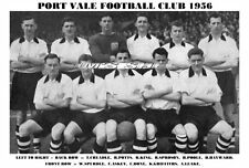 PORT VALE F.C. TEAM PRINT 1956 (DONE / ASKEY / SPURDLE / SPROSON)