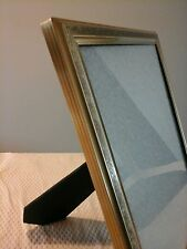"PICTURE FRAME EMBOSSED  METAL 8"" x 10"" BEAUTIFUL ELEGANT VERY RARE"