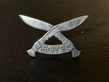 More details for rare original gurkha boys company badge - circa 1950 - singapore