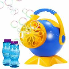 Geekper Bubble Machine, Automatic Bubble Blower Bubble Maker + 2 Bottles Bubbles