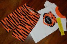 Pajama Set Tiger Gymboree Orange Black White Boy size 12-18 mo New