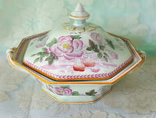 Adams Calyx Ware Metz Covered Vegetable Bowl Vintage English Ironstone China