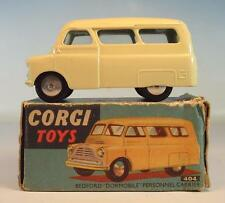 CORGI toys 404 BEDFORD DORMOBILE personnel Carrier en O-Box #4333