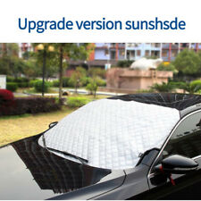 143*93cm Winter Car Front Windshield Snow Frost Cover Summer Sun Protector Shade