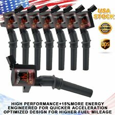 For Ford Excursion F150 F350 4.6L 5.4L 2004 2003 2002 2001 Ignition Coil 8 Packs