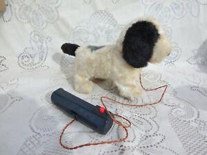 VTG 1950s Walking Barking 2D Batteries Operated Toy Dog Tested Works Japan?