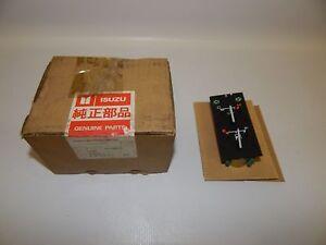 New OEM 1985-1989 Isuzu I-Mark Temperature Fuel Gauge Meter Cluster Automatic