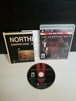 Metal Gear Solid V: The Phantom Pain Day One Edition PS3 - Complete (CIB) w/Map!