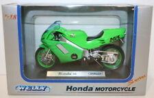 Motocicleta de automodelismo y aeromodelismo WELLY color principal rojo