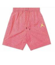 Nike Air JORDAN JUMPMAN CEMENT 4 Retro POOLSIDE PINK SHORTS CI9133 639 XL Hawaii