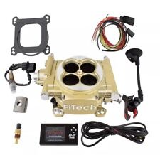 FiTech 30005 Easy Street EFI 600HP Bolt On Fuel Injection EFI System Kit Gold
