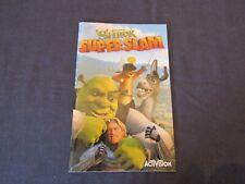SHREK SUPER SLAM GAME MANUAL 2005.