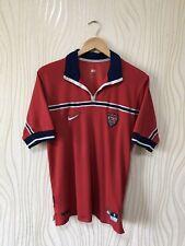 USA 1998 1999 AWAY FOOTBALL SHIRT SOCCER JERSEY RED NIKE VINTAGE