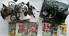 2 mal Microsoft Xbox mit 4 Controllern, 5 Spielen , Kabel