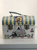"Disney Lunch Box ""under the big top"" vintage 1999 Mickey Mouse metal lunch box"