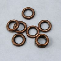 6mm Antique Brass Twist Jump Ring #RJC025