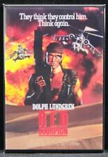 "Red Scorpion Movie Poster 2"" X 3"" Fridge / Locker Magnet. Dolph Lundgren"