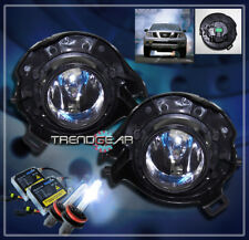 BUMPER CHROME FOG LIGHT+8000K HID FOR 2005-2009 FRONTIER/PATHFINDER/2007+ SENTRA