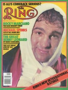 ROCKY MARCIANO 8X10 PHOTO BOXING PICTURE THE RING
