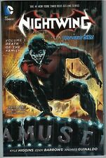 * NIGHTWING (New 52) Vol 3 Death of the Family TP TPB $16.99srp Snyder-ship damg
