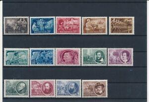 D143133 Hungary 1951-1952 Nice selection of MNH stamps