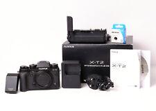 Fujifilm X-T2 Body + Meike Power Grip, Excellent, 22k Shutters, Boxed, Fuji XT2
