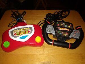 2 TV Plug 'N Play Games HOT WHEELS & ETCH-A-SKETCH Mattel/Ohio Art 2005 Tested