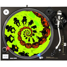 Portable Products Dj Turntable Slipmat 12 inch - Dragon Breath ChaCha