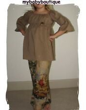 NWT~mybabyboutique.com Linen like Colonial Print Pants~Size 6~Girls Boutique