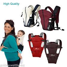 Ergonomic Breathable Infant Baby Carrier Adjustable Wrap Sling Newborn Backpack