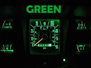 Gauge Cluster LED Dashboard Bulbs Green For Ford 73 79 F100 - F350 Truck