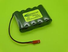 TENERGY 6V 2500mAh RECEIVER RX NiMH BATTERY JST BEC / MADE IN USA / 2505F-B