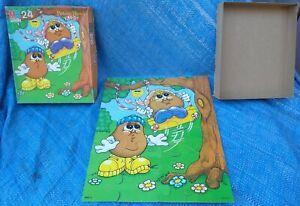 Milton Bradley Potato Head Kids 24 Piece Puzzle Complete With Box 1986 Vintage