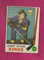 1969-70 OPC # 143 KINGS JIMMY PETERS VG ROOKIE CARD (INV# A322)