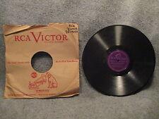 """78 RPM 10"""" Record Orkiestra Nadwislanska Oberek Oj Sik Sik & Kamien Na 25-9050"""