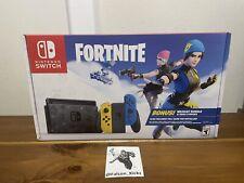New Nintendo Switch Fortnite Special Edition - Wildcat Bundle Plus 2000 V-Bucks