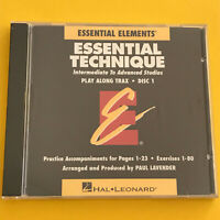 Essential Technique, Essential Elements, Play Along Trax Disc 1