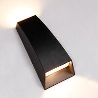 Outdoor 5W LED Wall Sconce Light Waterproof Up/Down Lamp Fixture Patio Garden