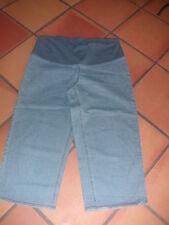 pantalon   pantacourt jean  de grossesse  taille 42 marque colline