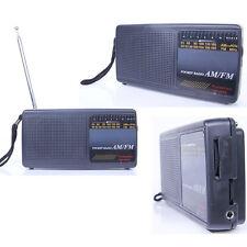 KW-8068 POCKET RADIO AM/FM PORTABLE TRAVEL RADIO