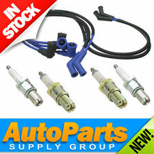 Mazda RX-7 NGK Spark Plug & Ignition Wire/Lead Set 1.3L R2 Turbo & Non 1986-1991