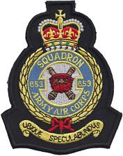 numéro 653 Escadron britannique Armée Air Corps AAC écusson mod patch brodé