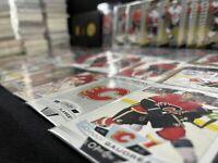 Calgary Flames Big Lot 600+ Base Cards Fleury Gilmour Tkachuk Giordano Iginla