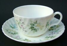 Minton Spring Valley Pattern 1st Quality 200ml Tea Cups & Saucers - Look in VGC