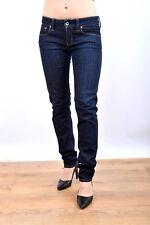 """MELTIN 'POT jeans """"Mika"""" Femmes Bleu Foncé Denim Slim Coupe Extensible W27 L32 très bon état Nice"""