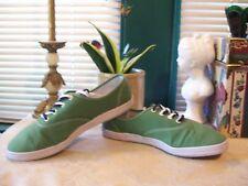 Joe Boxer Cotton Fabric  Lace Up Athletic Sneakers SZ 11M US....Eur 44...Green