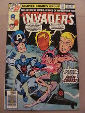 Invaders #36 Marvel Comics 1975 Series Captain America Namor Human Torch